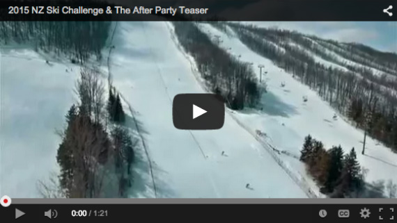 NZ Ski Event 2015 Video Teaser