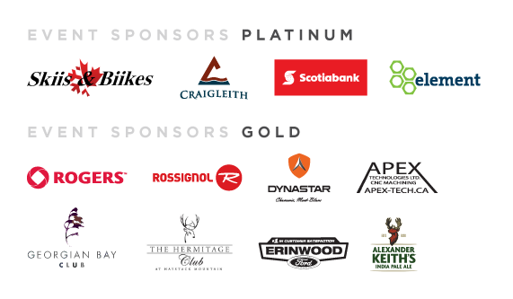 Platinum and Gold Sponsors